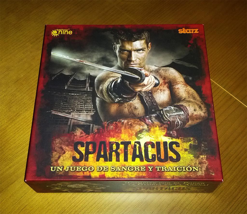 Spartacus, un Juego de Sangre y Traición