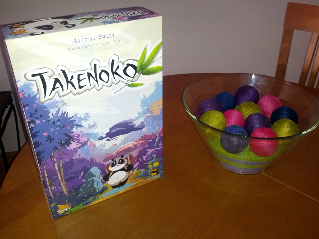 Takenoko, de Antoine Bauza