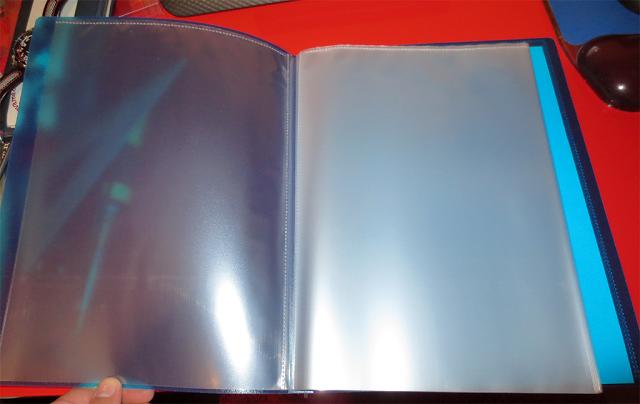 Cuaderno de fundas tamaño folio (nivel pro)