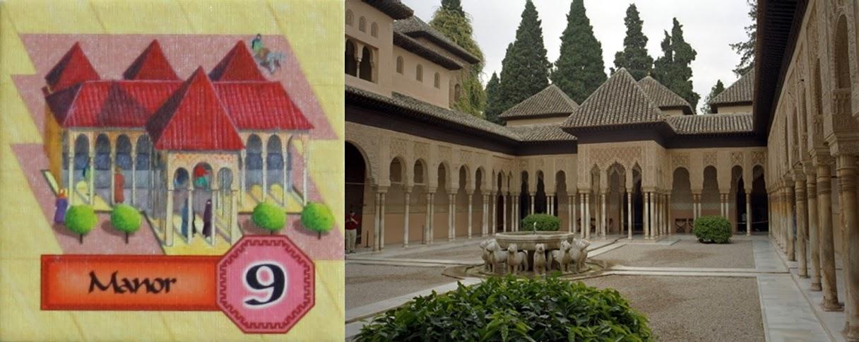 Loseta de Serrallo - Palacio de los Leones
