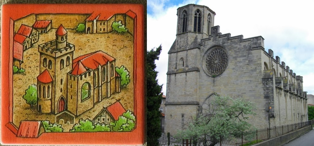 Loseta de Abadía y la Catedral de Saint-Michel
