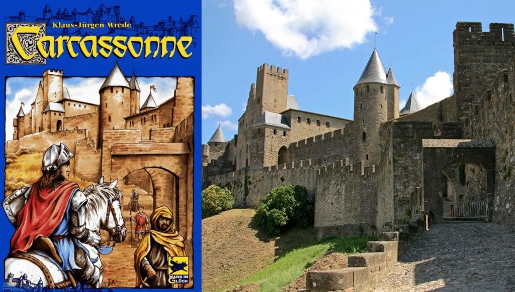 Portada de Carcassonne y una de las entradas a la Ciudadela