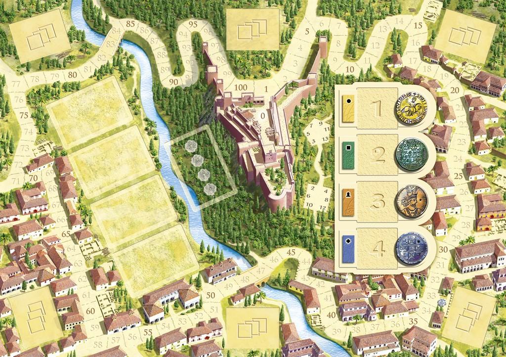 Tablero de Granada, de Dirk Henn