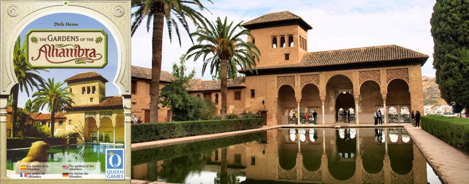 Portada de Los Jardines de la Alhambra, de Dirk Henn - Partal de la Alhambra