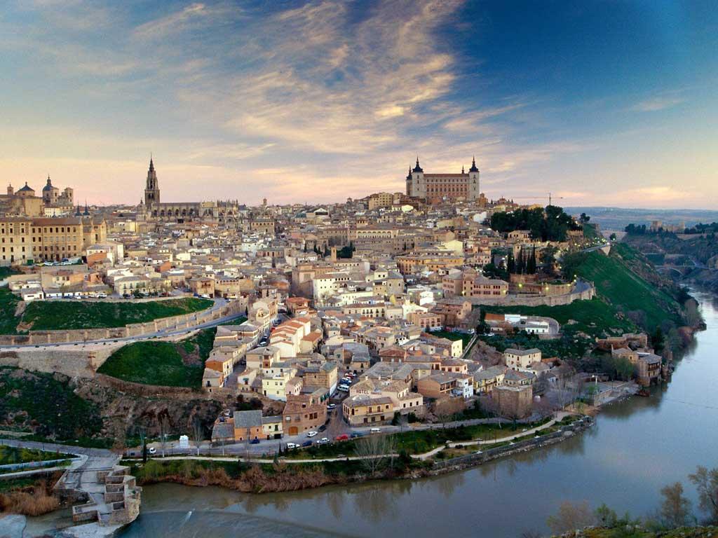 Vista aérea de Toledo