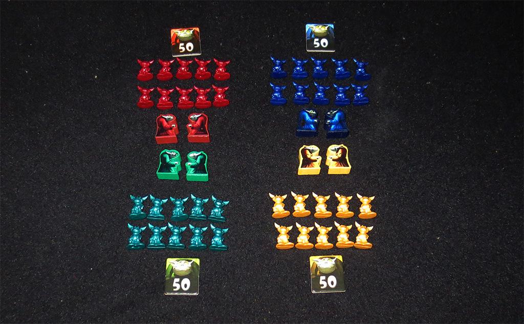 Componentes de Jugador