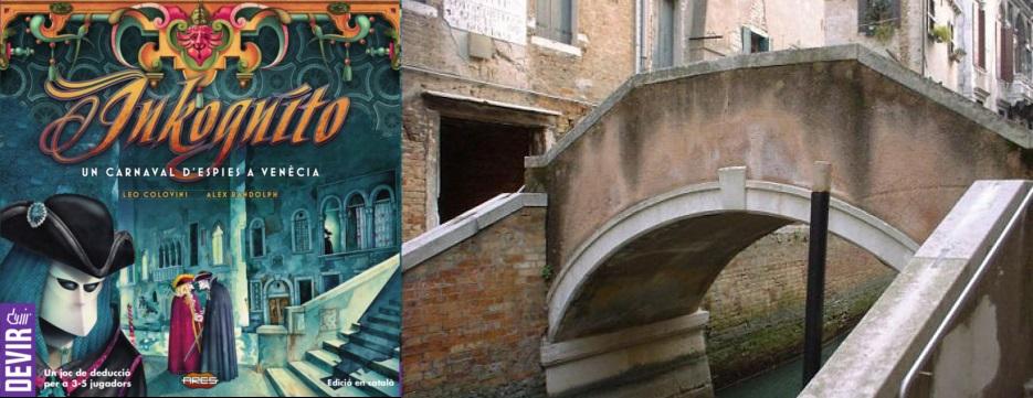 Portada de Inkognito - Puente de la Tetta en Venecia