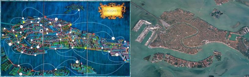 Tablero de Inkognito - Vista aérea de Venecia