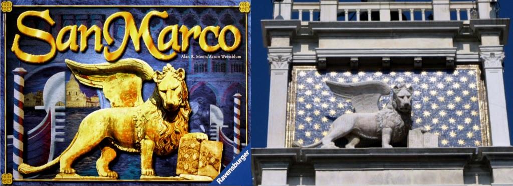 Portada de San Marco - Detalle de la Torre del Reloj