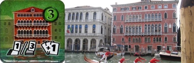 Loseta de Edificio de Rialto - Palazzo Bembo de Venecia