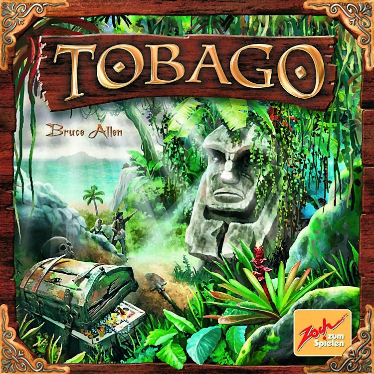 Portada de Tobago, fiel reflejo de lo que contiene la caja