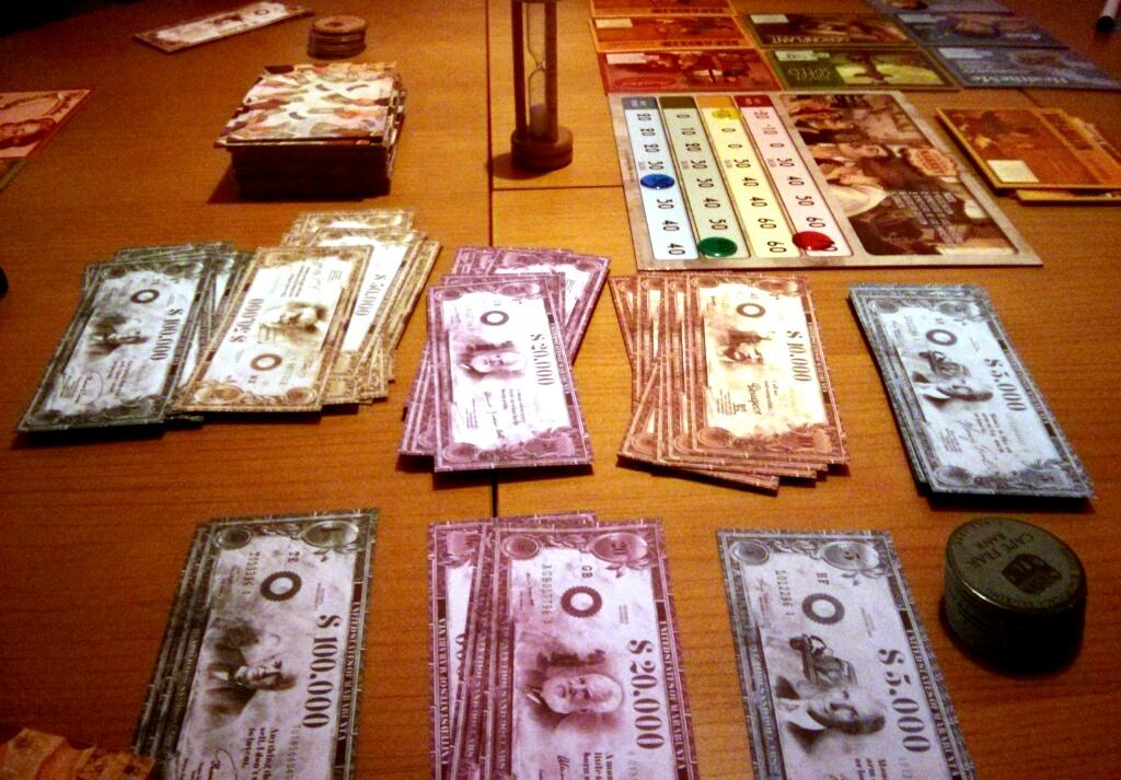 Demasiado dinero cerca de mí