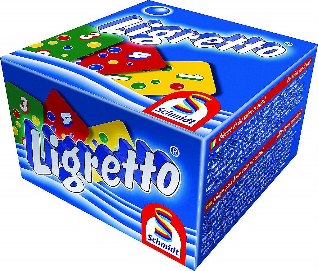 Ligretto, caja azul
