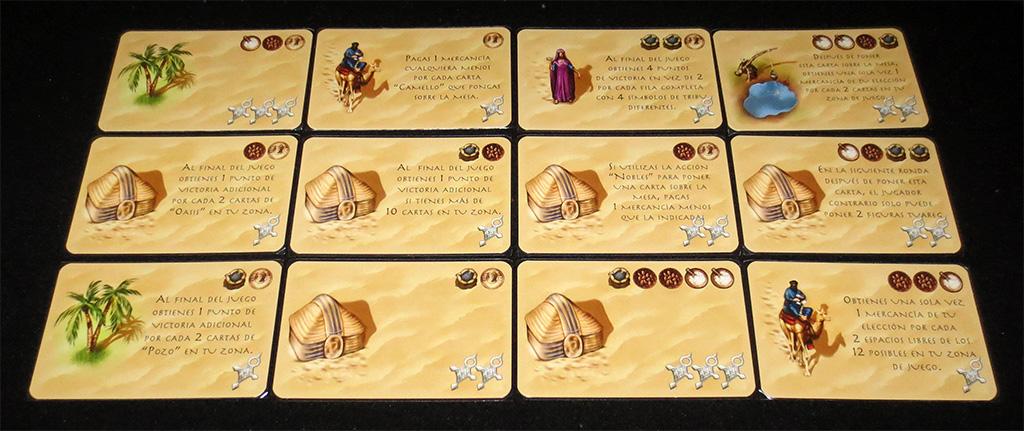Matriz de cartas de tribu