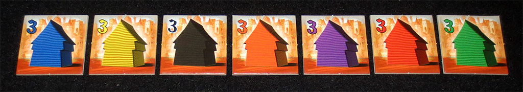 Losetas de Objetivo: Casas