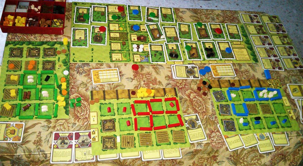 Buena partida al Agricola, aunque demasiada diferencia con Sandra y Rubén