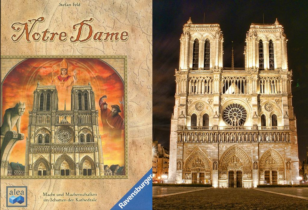 Portada de Notre Dame - Catedral de Notre Dame