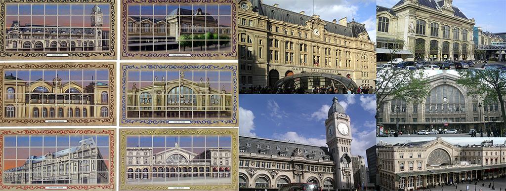 Estaciones de Paris Connection - Estaciones Ferroviarias de París