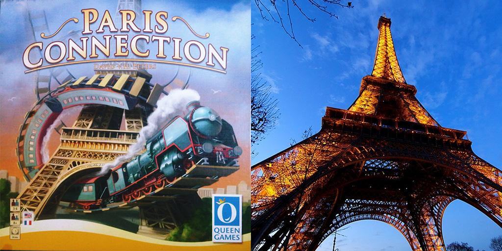 Portada de Paris Connection - Vista desde abajo de la Torre Eiffel