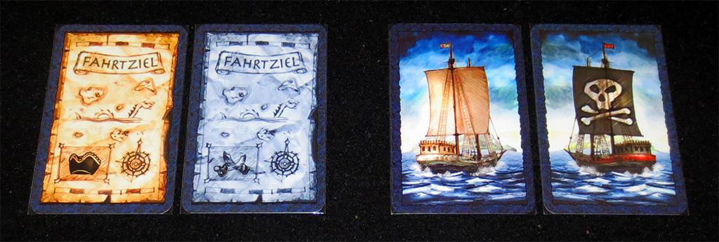 Cartas de Destino y de Barcos