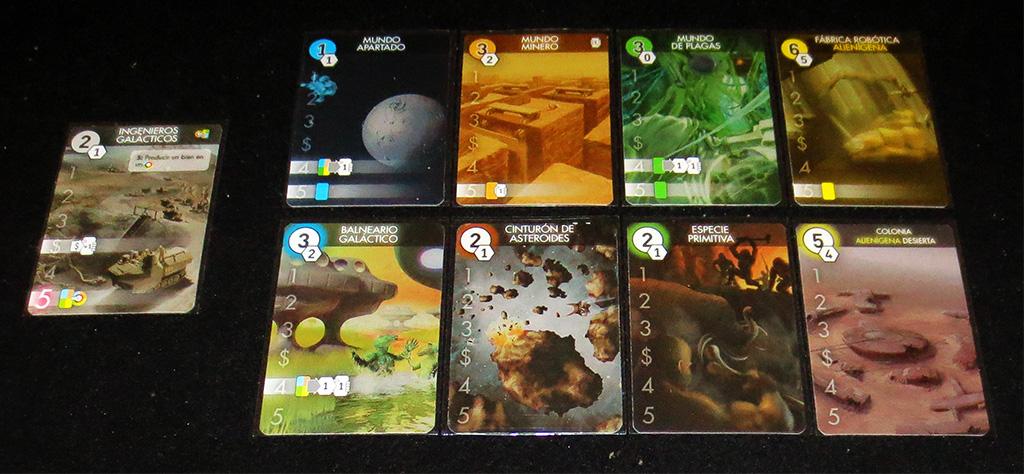 Tipos de Planetas según Recursos