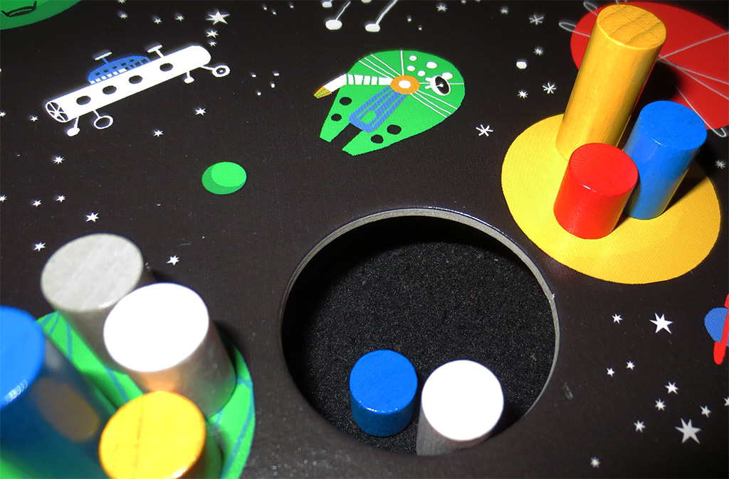 Detalle de agujero negro