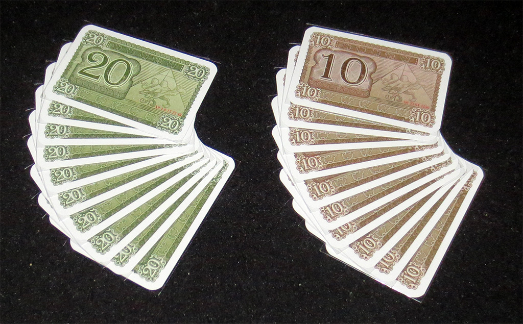 Cartas de Billete