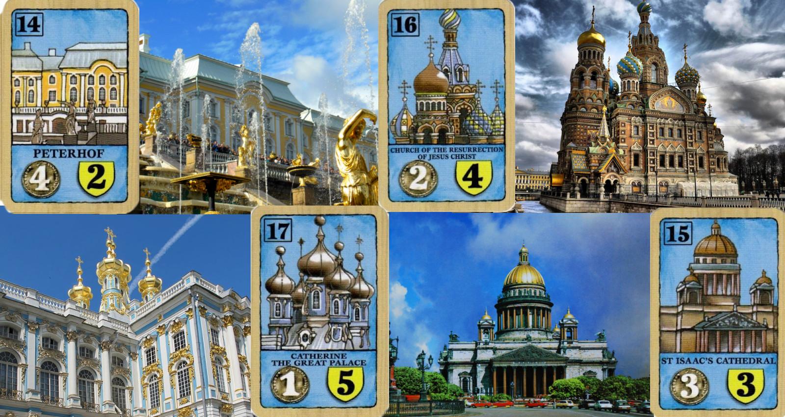 Peterhof - Iglesia del Salvador sobre la Sangre Derramada - Palacio de Catalina - Catedral de San Isaac