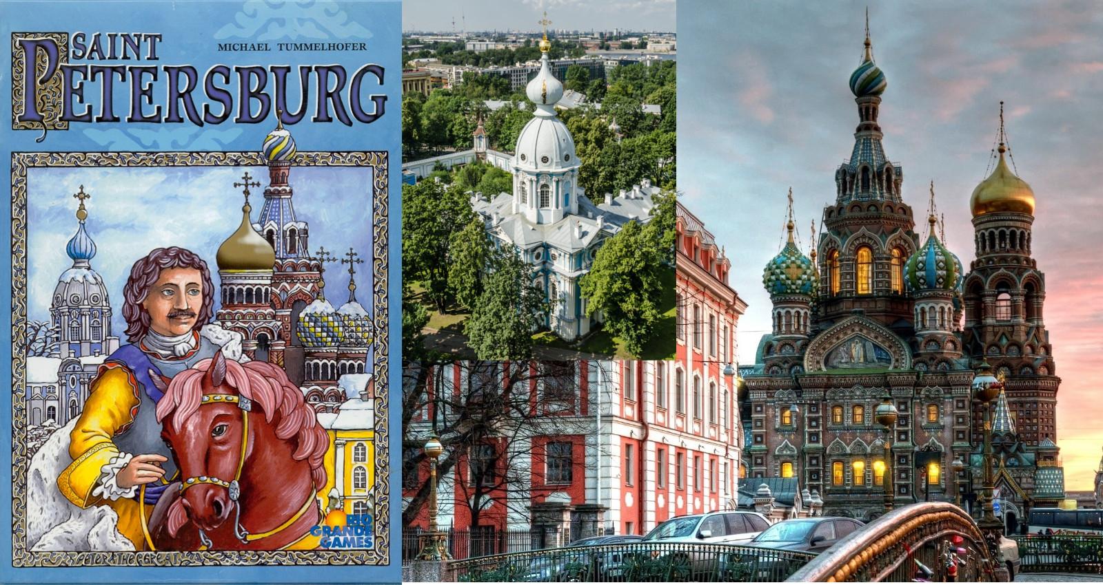 Portada de la 1ª Ed. de Saint Petersburg - Convento Smolny - Iglesia del Salvador sobre la Sangre Derramada