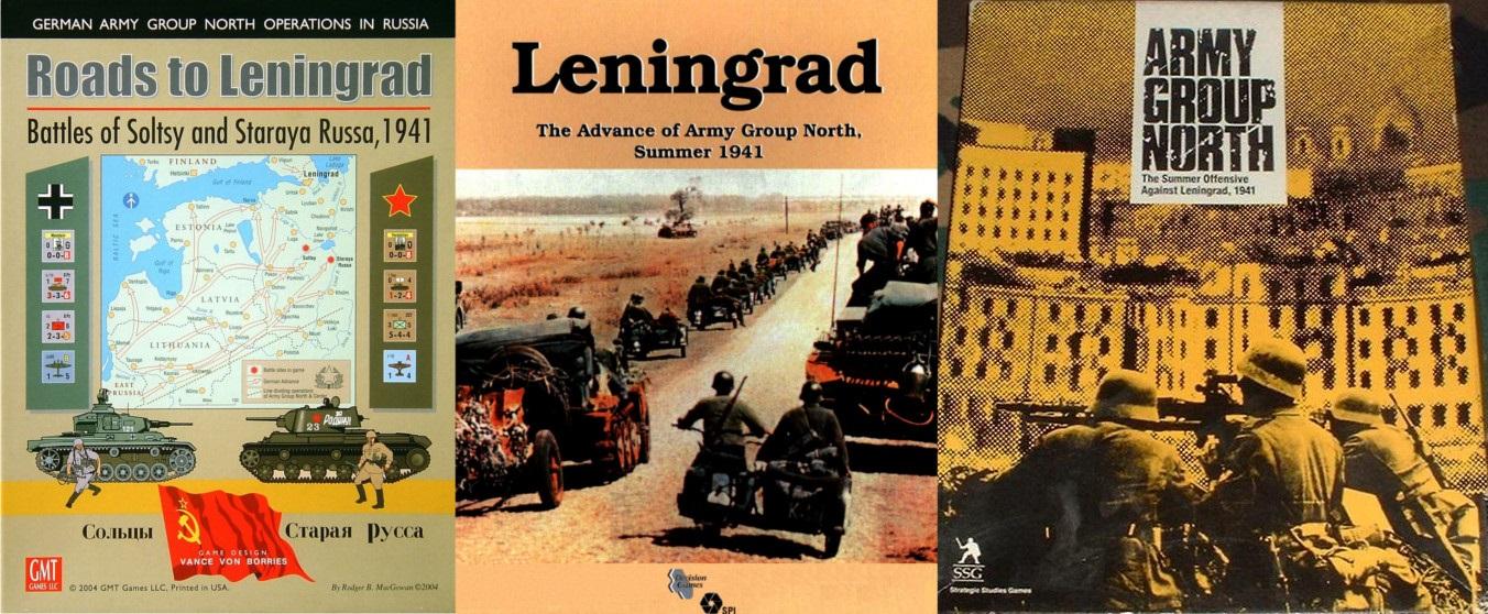 Portadas de Roads to Leningrad - Leningrad - Army Group North