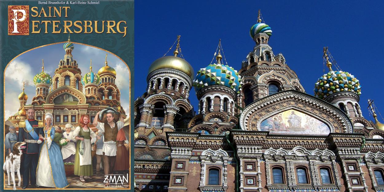 Portada de la 2ª Ed. de Saint Petersburg - Iglesia del Salvador sobre la Sangre Derramada