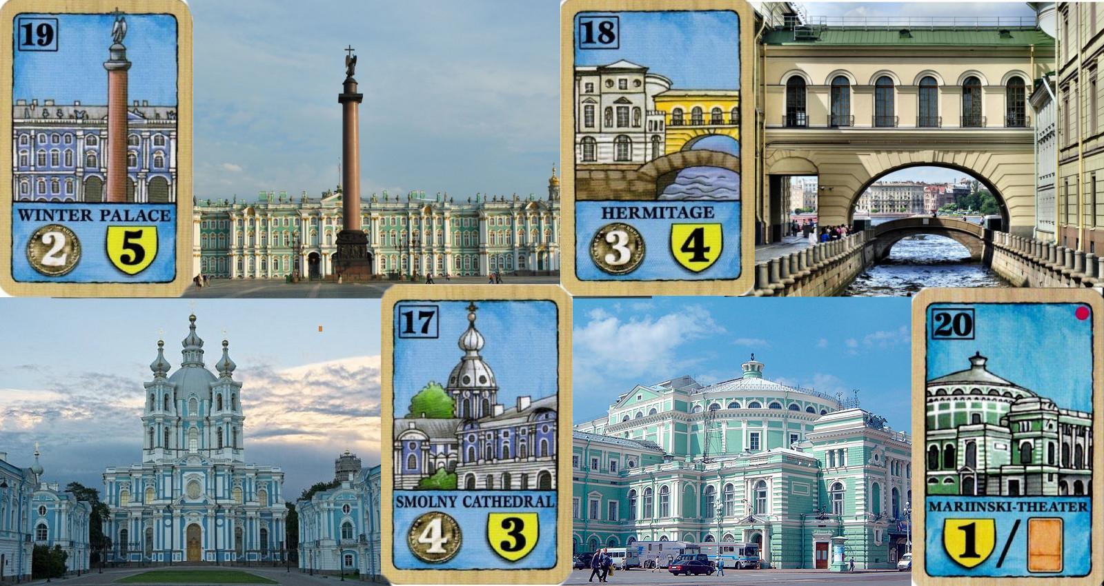 Palacio de Invierno - Hermitage - Convento Smolny - Teatro Mariinski