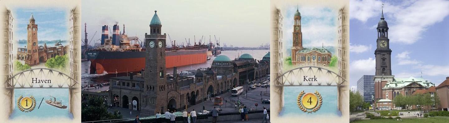 Carta de Puerto - Puerto de Hamburgo - Carta de St. Michaelis - Iglesia de San Miguel