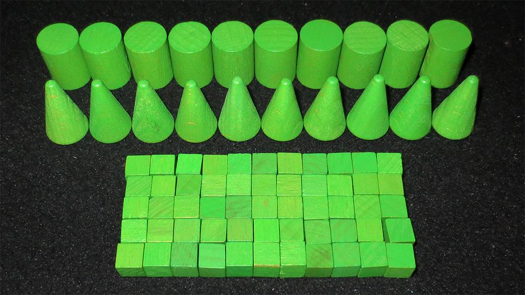Cilindros, Conos y Cubos de jugador