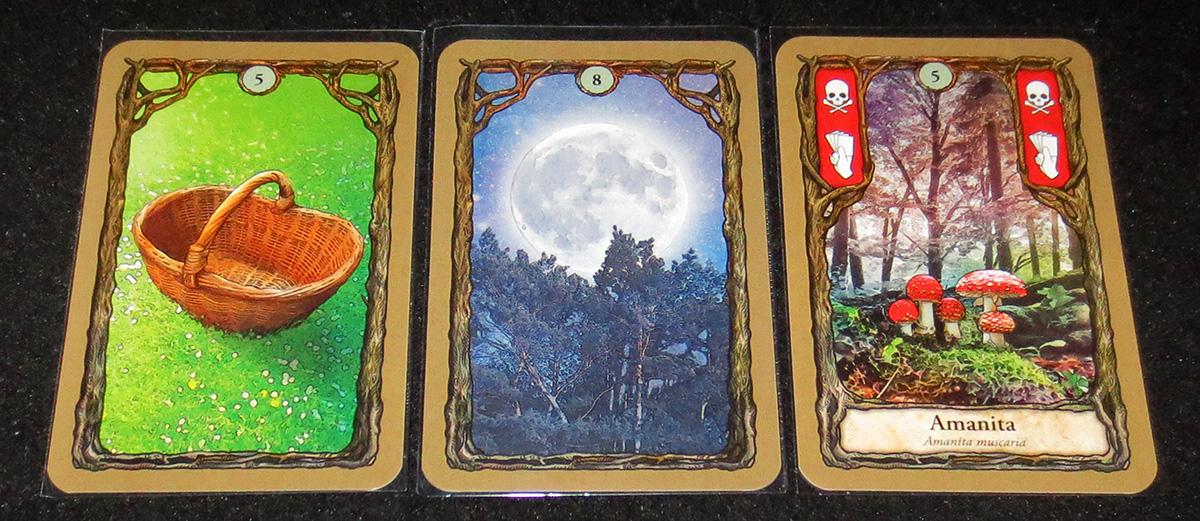 Cesta, Luna y Amanita