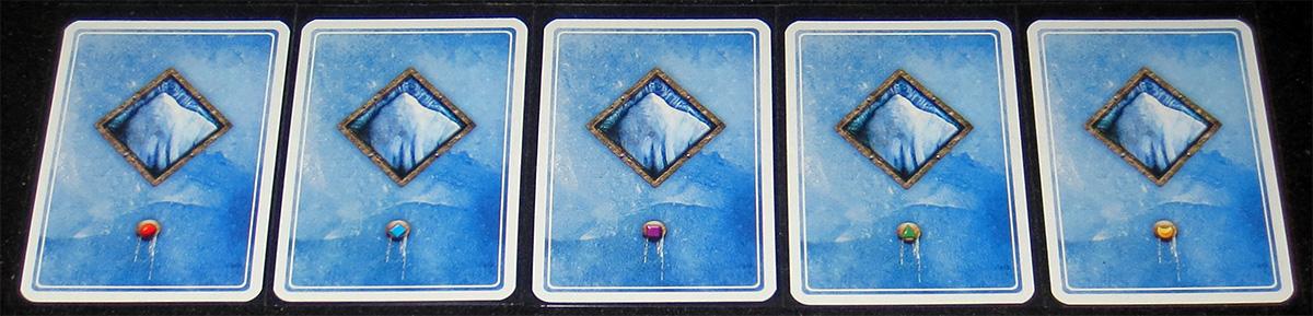 Reverso de las cartas