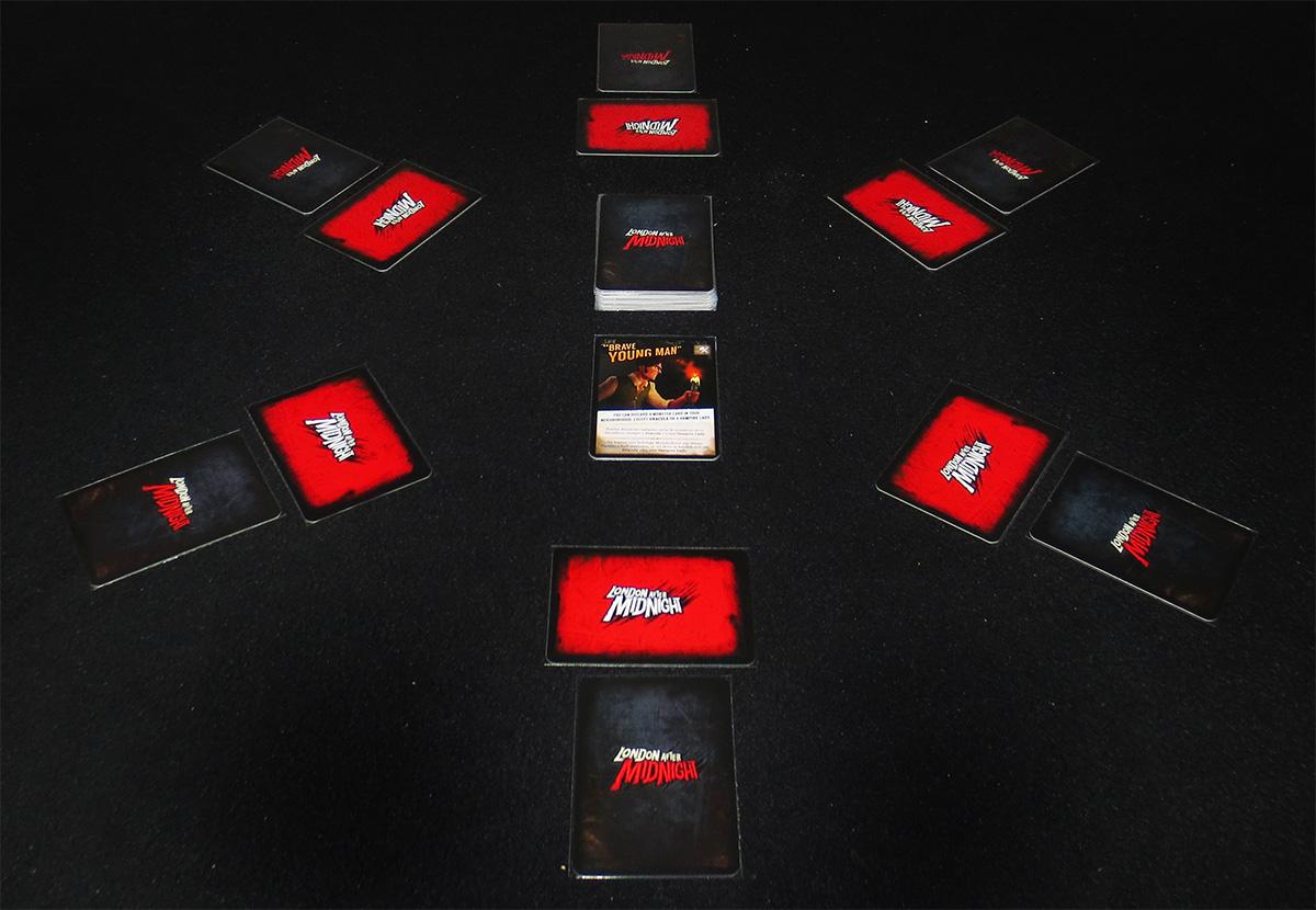 Partida preparada para seis jugadores