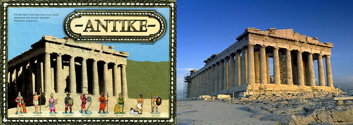 Portada de Antike - Partenón