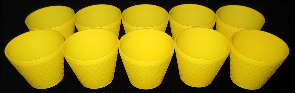 Vasos Amarillos