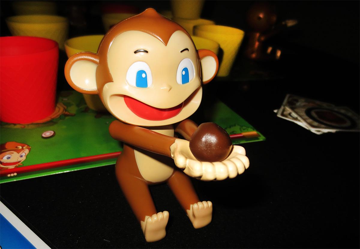 Mono cargado y listo para disparar