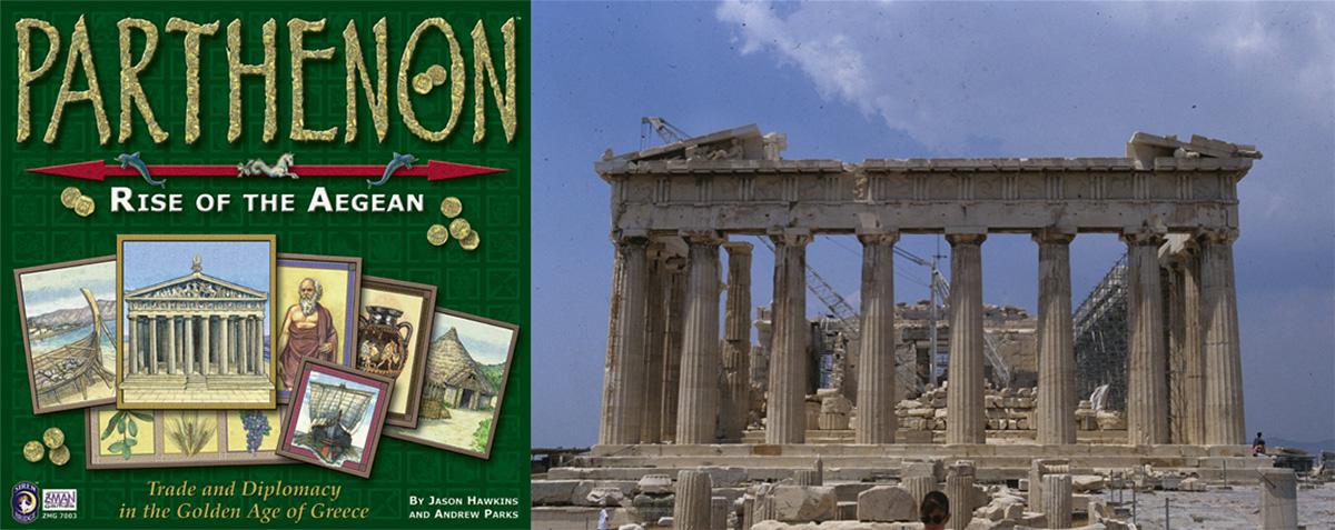Portada de Parthenon - Frontal del Partenón