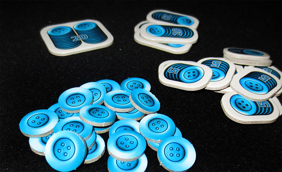 Detalle de los botones