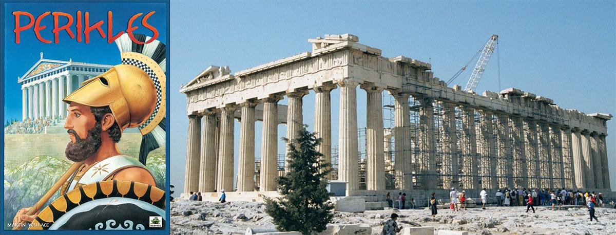 Portada de Perikles - Partenón