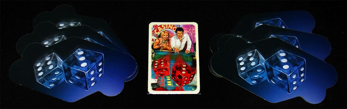 Carta de Jugador Inicial y Reverso de los Casinos