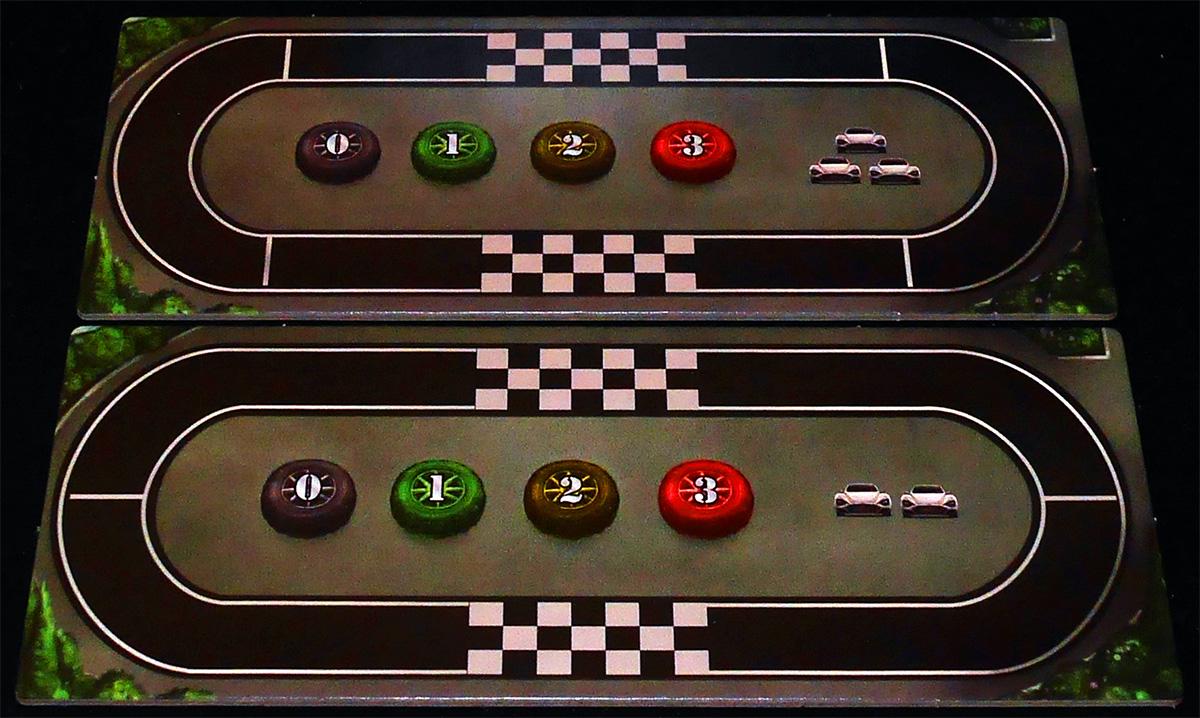 Pista para Partidas de 3 y 2 Jugadores