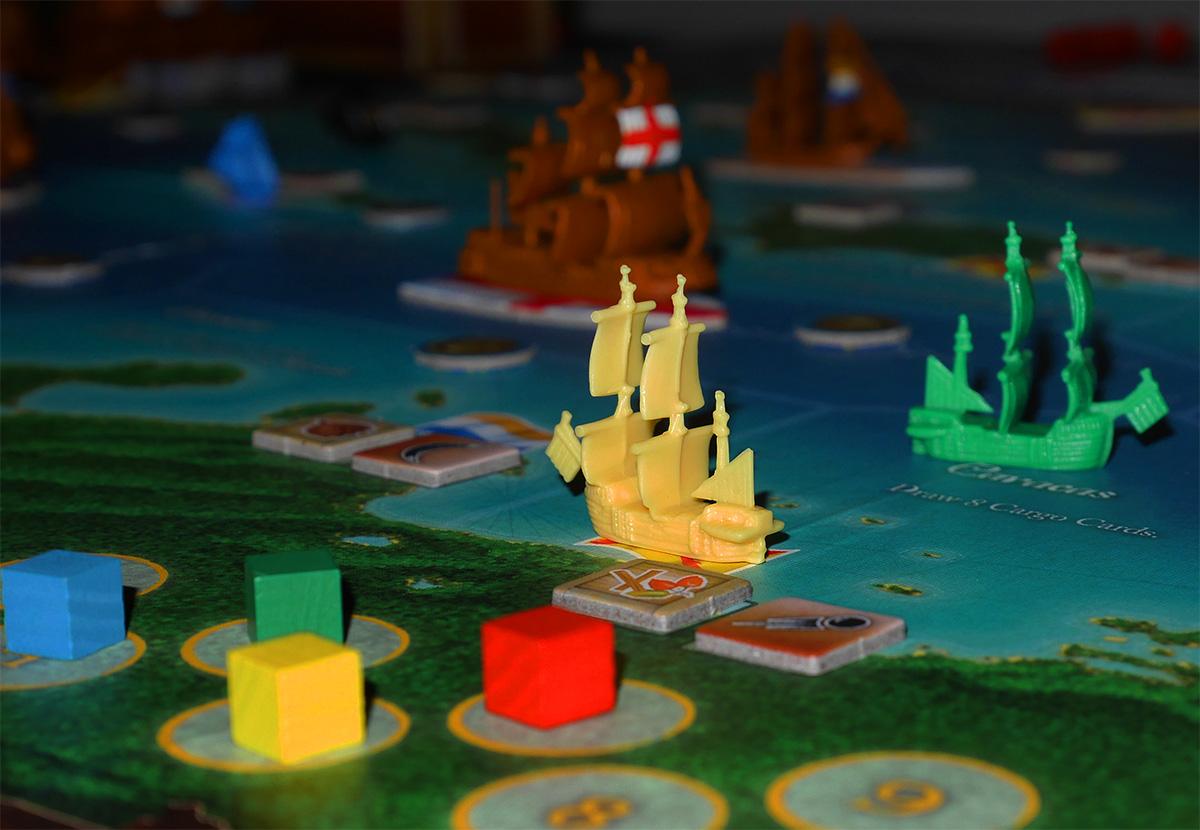 Detalle de Barco en Puerto