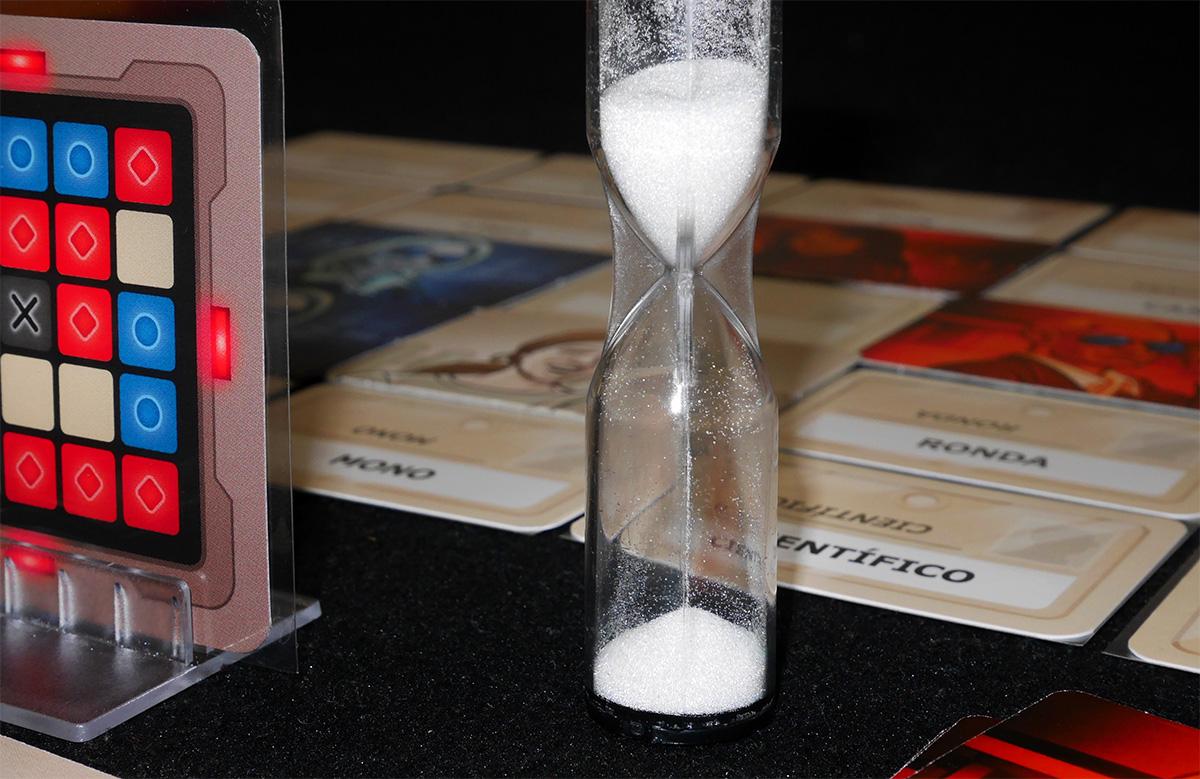 Detalle Reloj de Arena