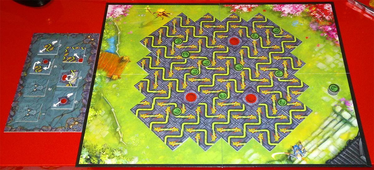 Segunda victoria, esta vez con el mapa del jardín y con expansión