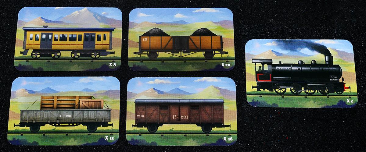 Cartas de Tren