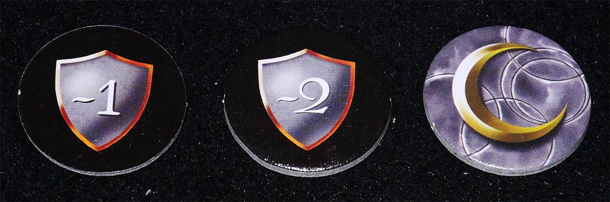 Fichas de Escudo y Jugador Inicial